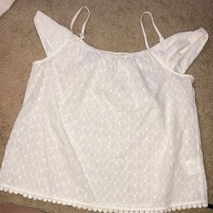 NWOT Lily White top